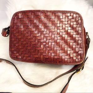 Vintage leather crossbody bag price ready to sell